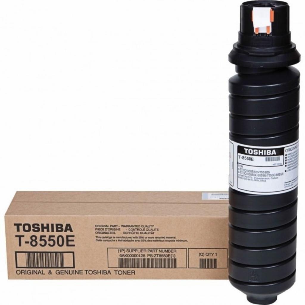Тонер-картридж Toshiba T-8550E BLACK 62.4K для 555/655/755 (6AK00000128)