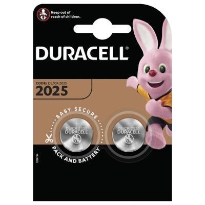 Батарейка Duracell CR 2025 / DL 2025 * 2 (5003990)