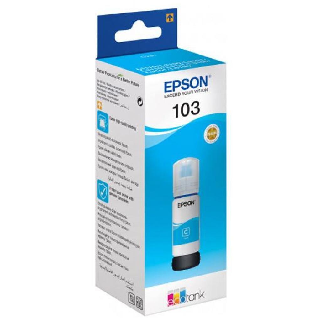 Контейнер с чернилами EPSON 103 Cyan (C13T00S24A)