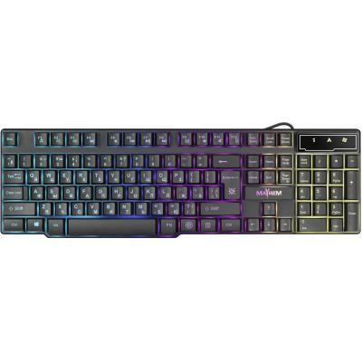 Клавиатура Defender Mayhem GK-360DL RU RGB backligh (45360)