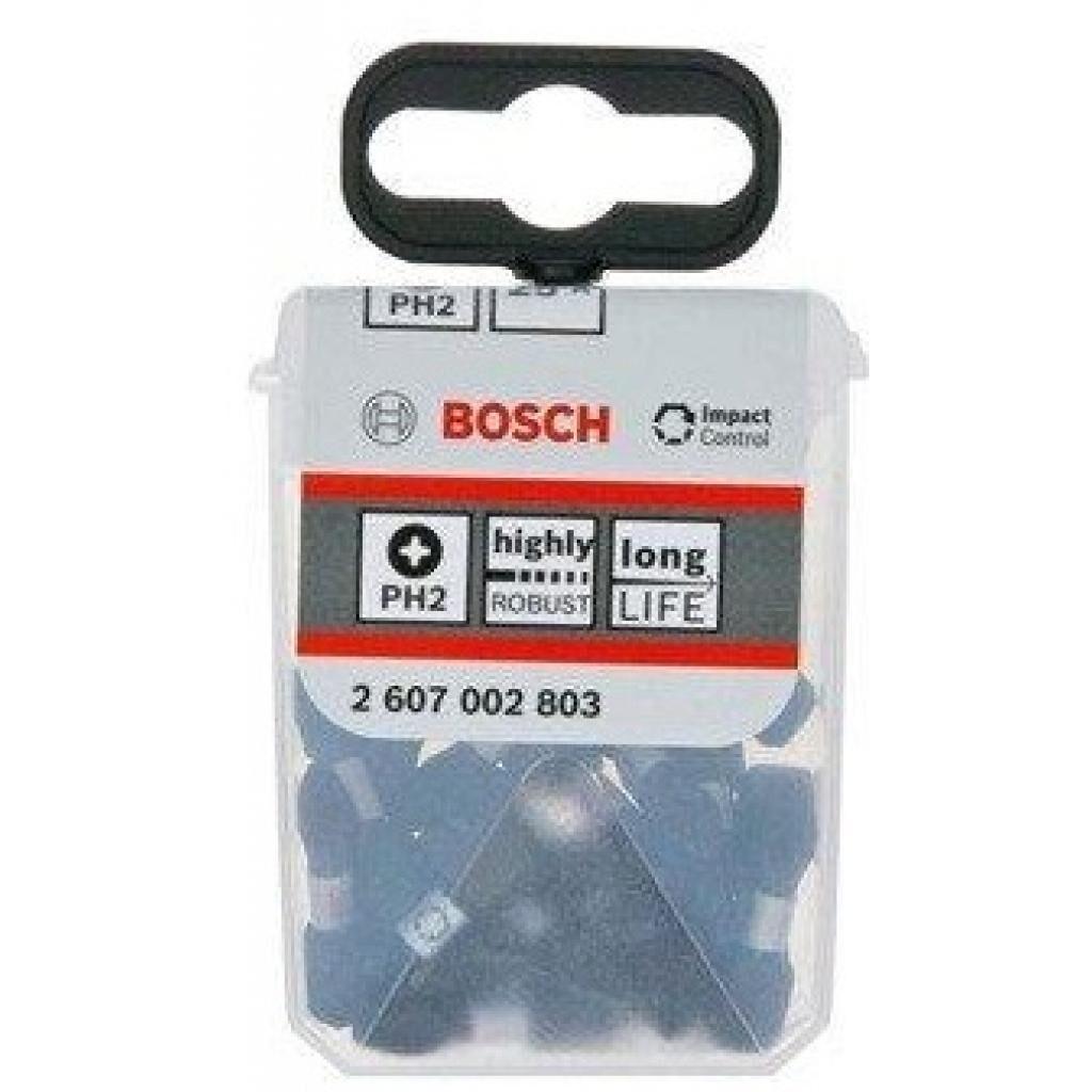 Набор бит Bosch Impact Control для ударной дрели PH2 (2.607.002.803)