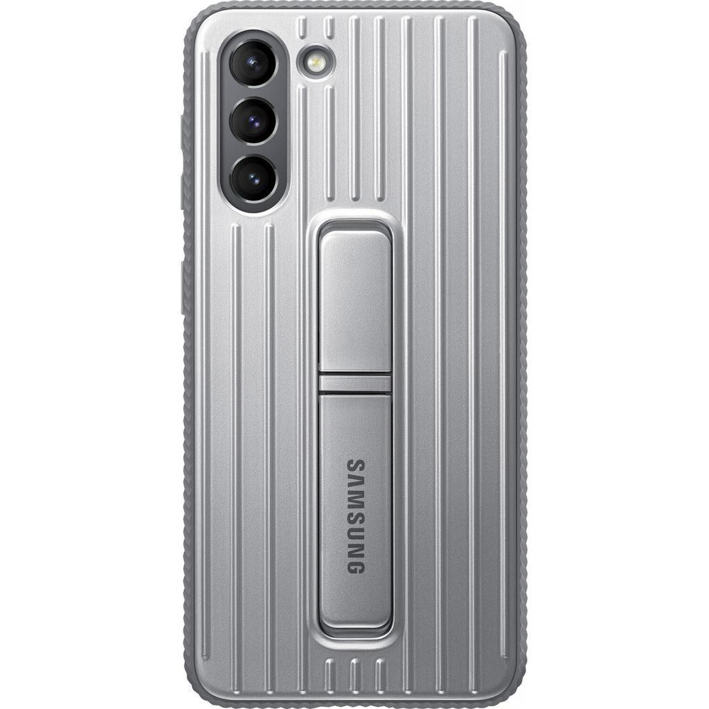 Чехол для моб. телефона Samsung Protective Standing Cover Samsung Galaxy S21 Light Gray (EF-RG991CJEGRU)