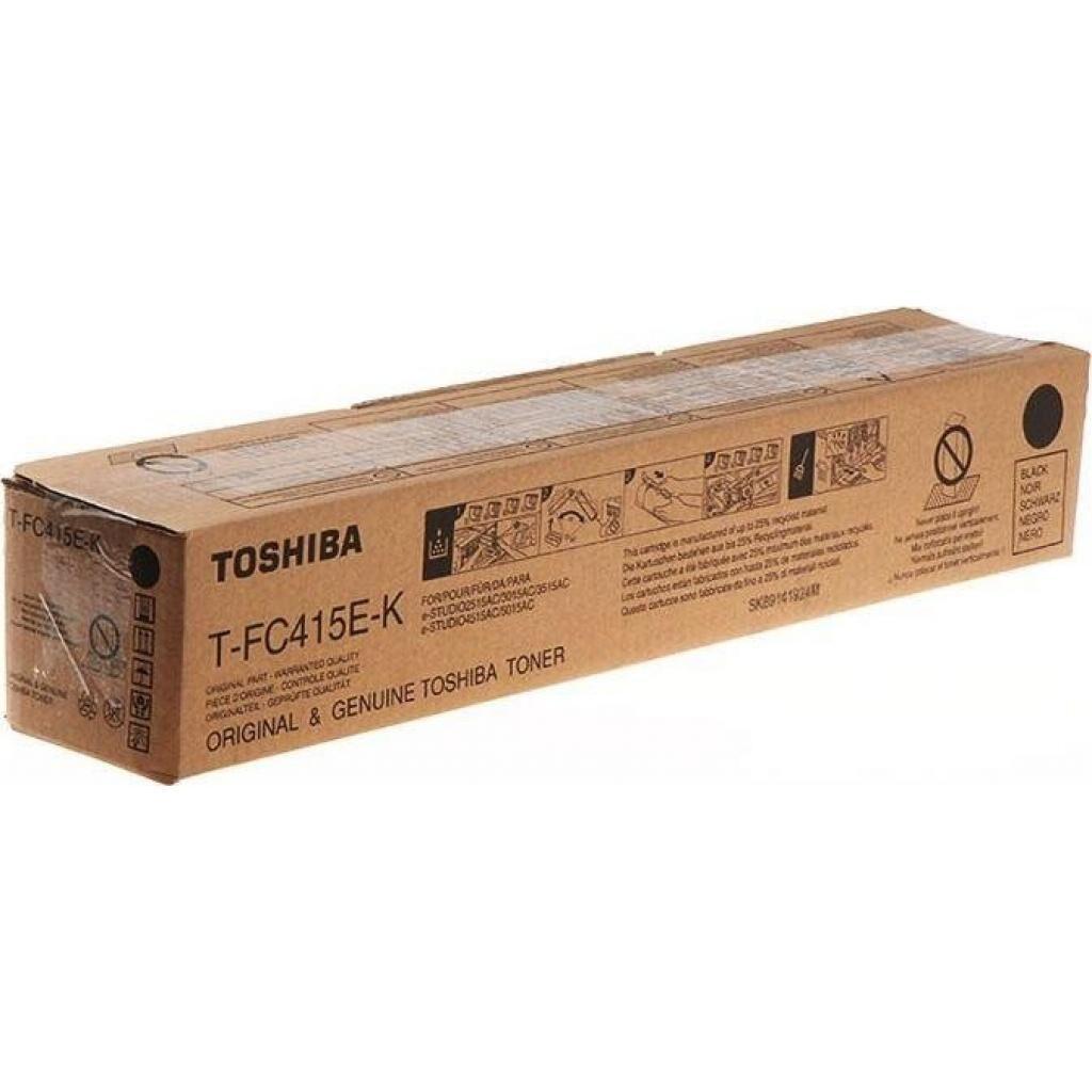 Тонер-картридж TOSHIBA T-FC415EK BLACK 38.4K (6AJ00000175)