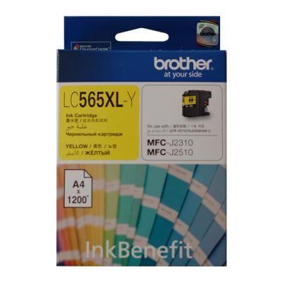 Картридж Brother MFC-J2310/J3520 XL yellow (LC565XLY)