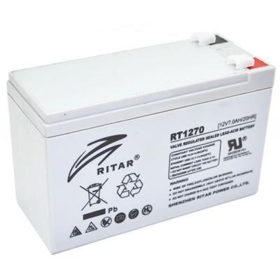 Батарея к ИБП Ritar AGM RT1270, 12V-7Ah (RT1270)