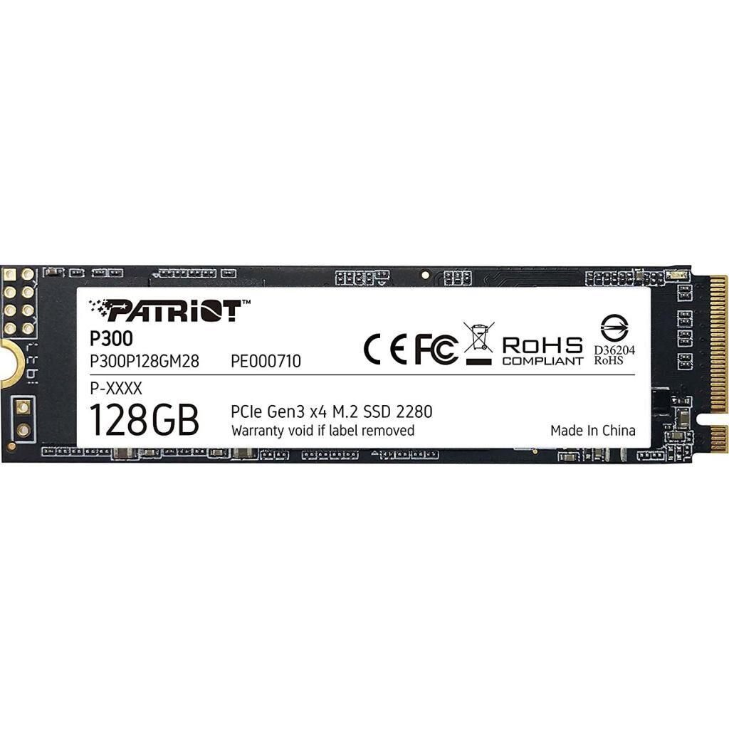 Накопитель SSD M.2 2280 128GB Patriot (P300P128GM28)
