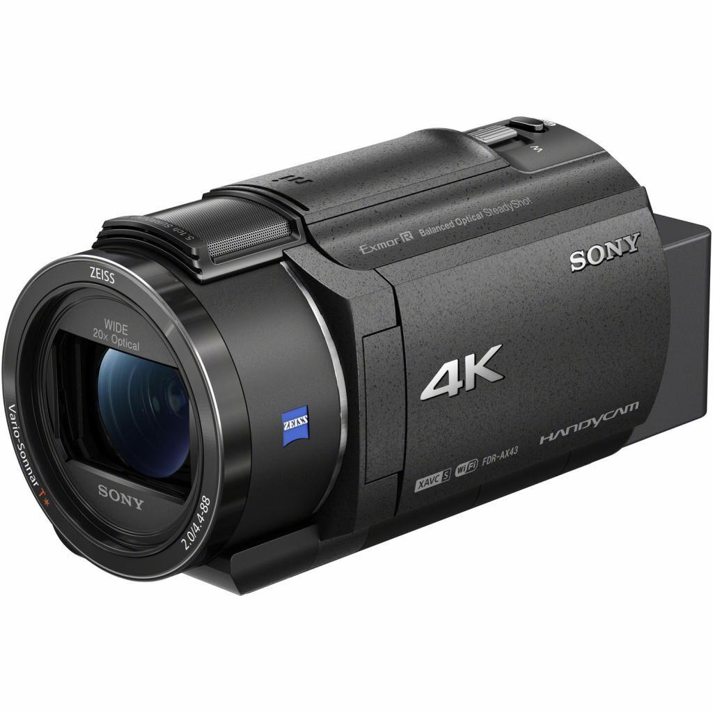 Цифровая видеокамера SONY Handycam FDR-AX43 Black (FDRAX43B.CEE)