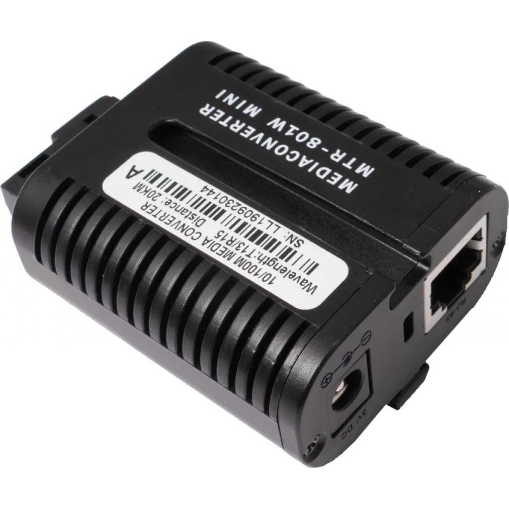 Медиаконвертер Alistar Mini 10/100BASE-T 100BASE-FX 1SM WDM SC 20KM TX1310/RX1550nm (X3)