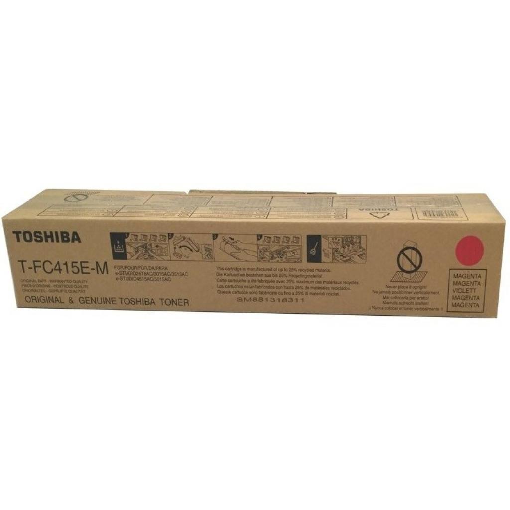 Тонер-картридж TOSHIBA T-FC415EM MAGENTA 33.6K (6AJ00000178)