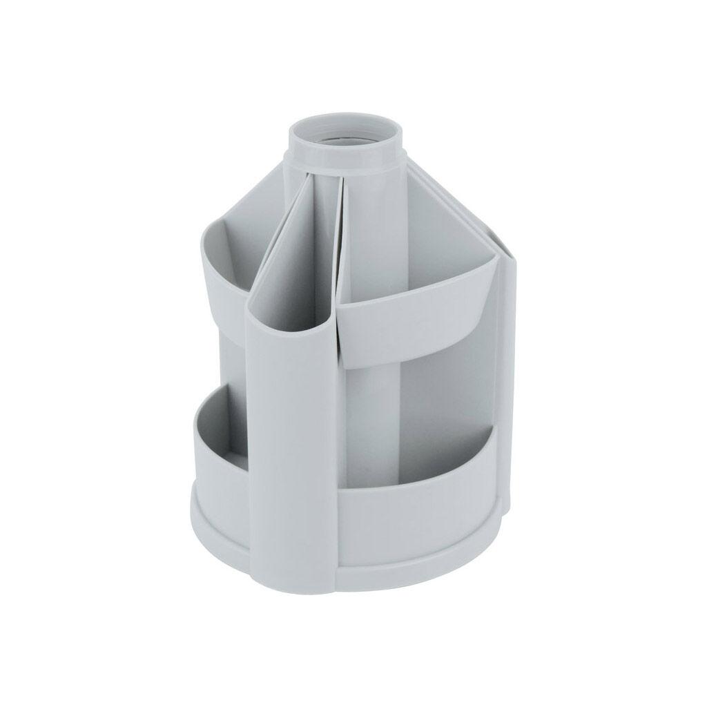 Настольный набор Delta by Axent 10 отделений Серый (D3004-03)