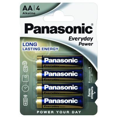 Батарейка Panasonic AA EVERYDAY POWER * 4 (LR6REE/4BR)
