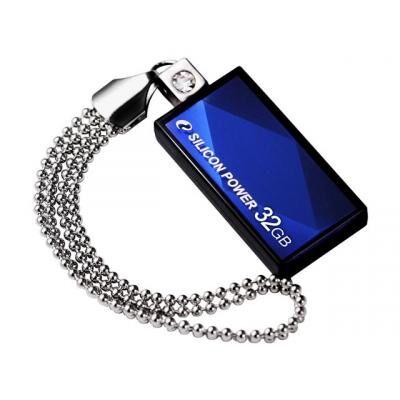 USB флеш накопитель Silicon Power 32GB Touch 810 USB 2.0 (SP032GBUF2810V1B)
