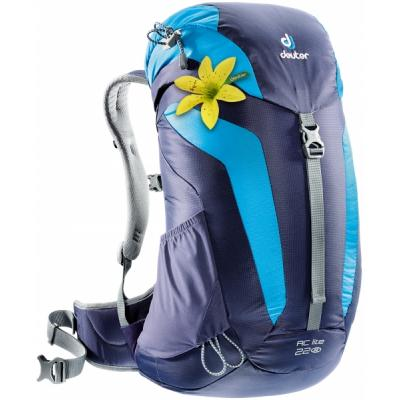 Рюкзак Deuter AC Lite 22 SL 3349 blueberry-turquoise (3420216 3349)