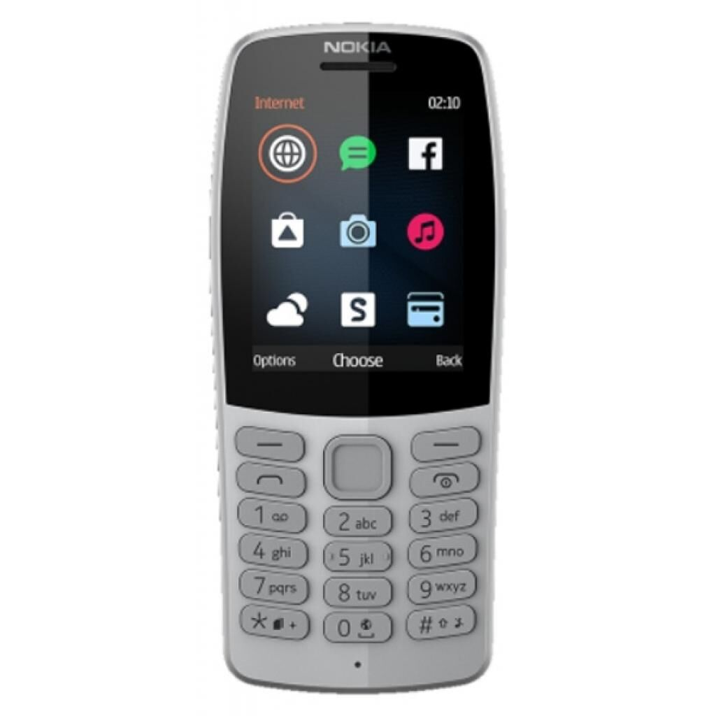 Мобильный телефон Nokia 210 DS Grey (16OTRD01A03)