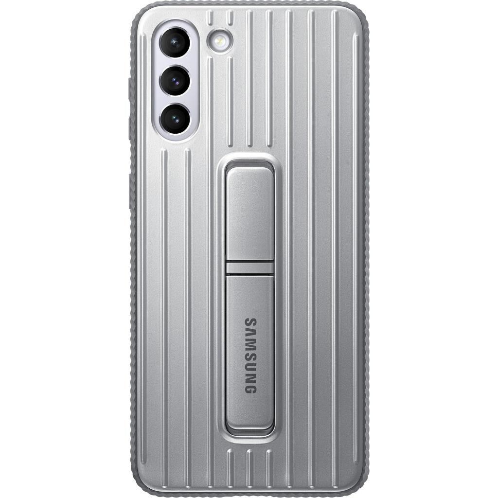 Чехол для моб. телефона Samsung Protective Standing Cover Samsung Galaxy S21+ Light Gray (EF-RG996CJEGRU)