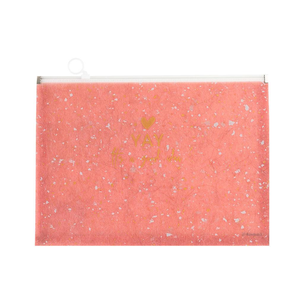 Папка на молнии Axent А5 zip-lock Shade Coral (1498-14-A)