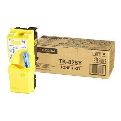Тонер-картридж TK-825Y yellow 7.5К Kyocera (1T02FZAEU0)