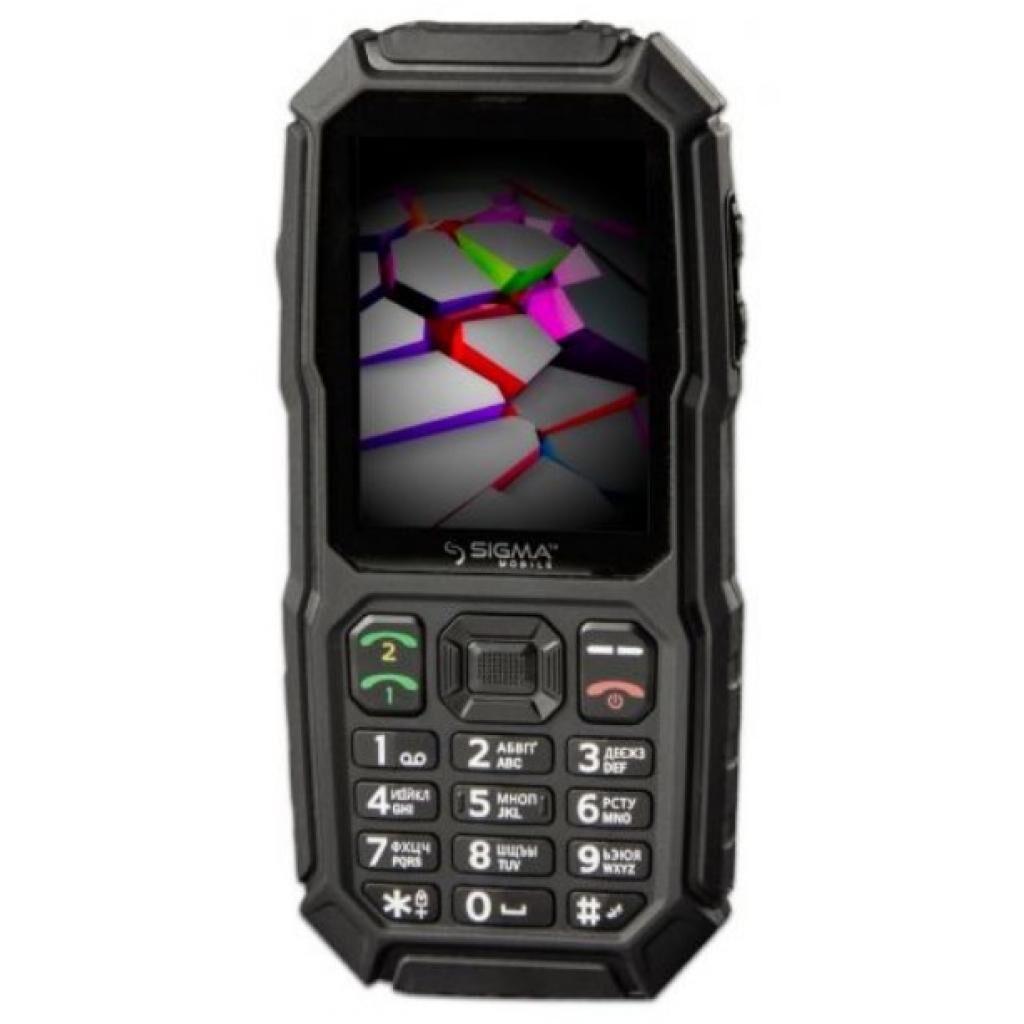 Мобильный телефон Sigma X-treme ST68 Black (4827798636718)
