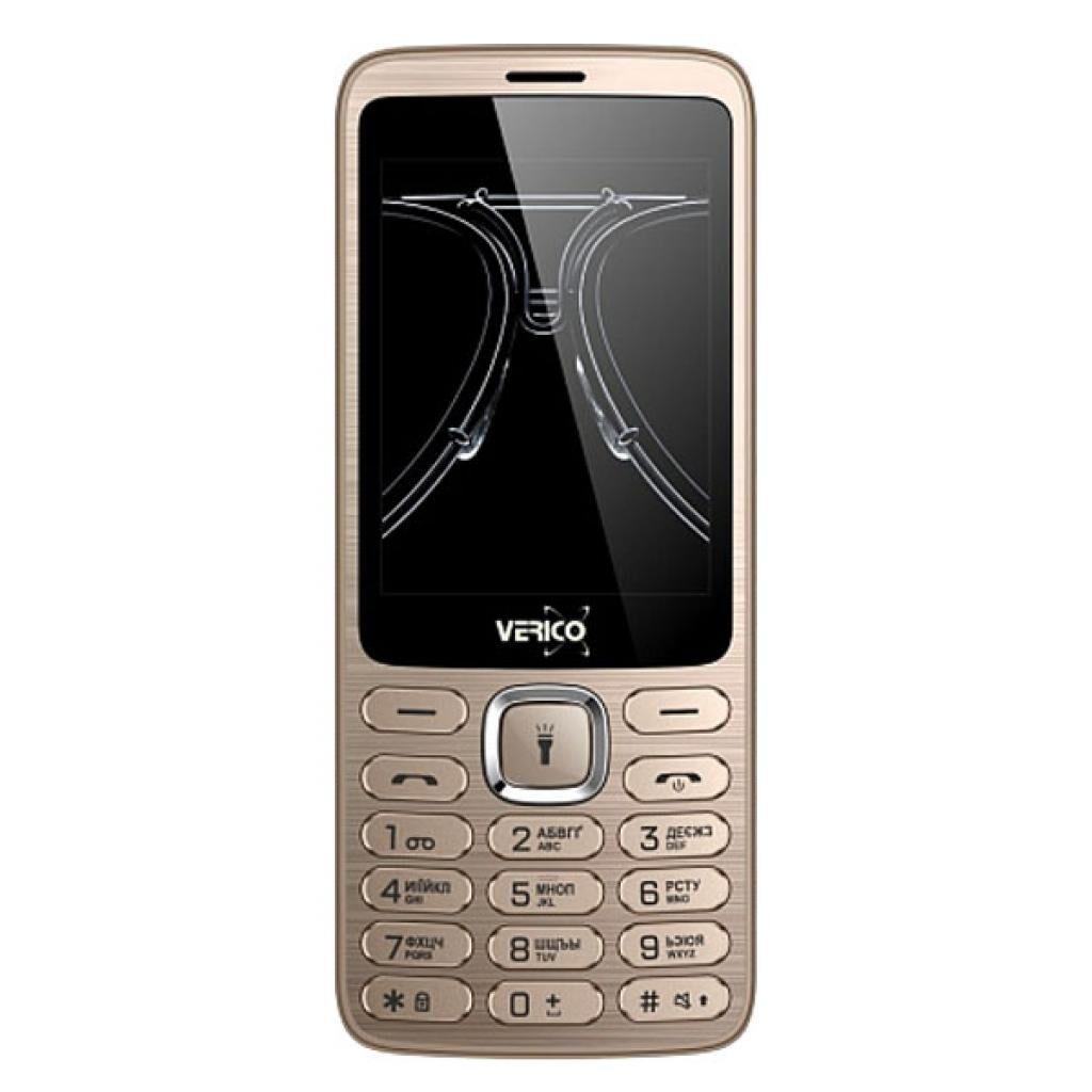 Мобильный телефон Verico Classic C285 Gold (4713095608230)