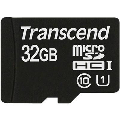 Карта памяти Transcend 32Gb microSDHC Class10 UHS-I (TS32GUSDCU1)