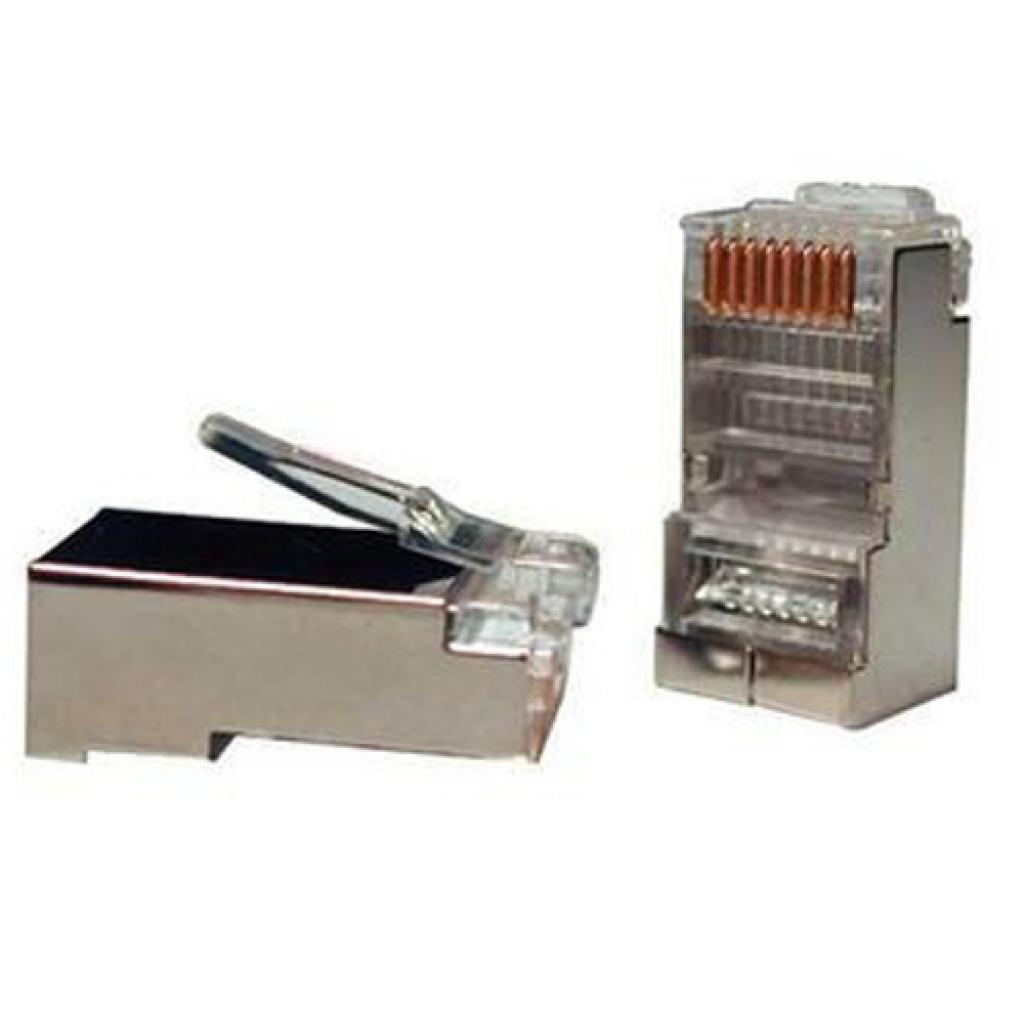 Коннектор RJ45 cat.5e FTP 8p8c Atcom (10698)