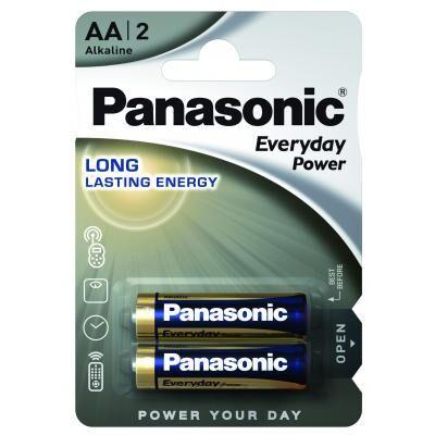 Батарейка Panasonic AA LR06 Everyday Power * 2 (LR6REE/2BR)