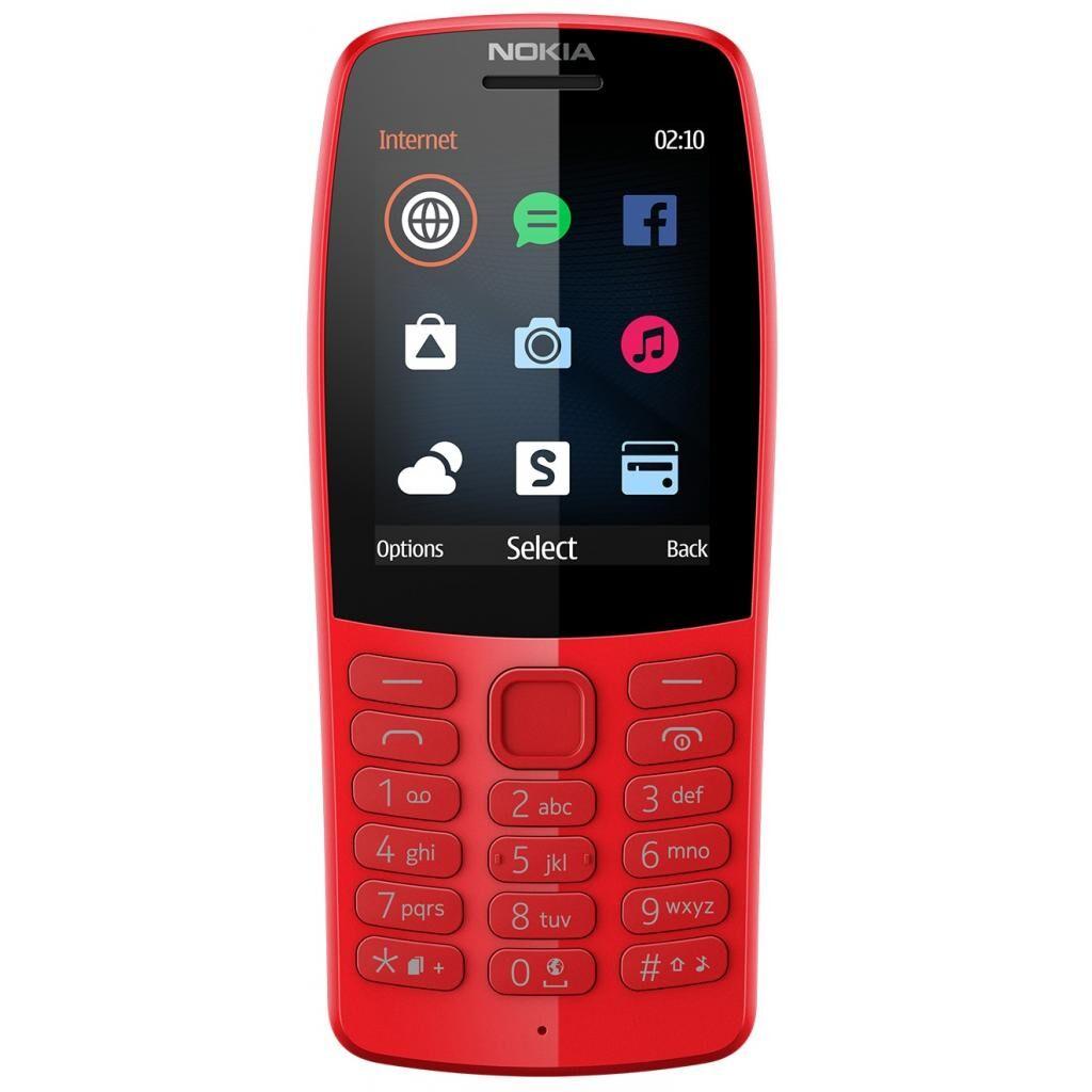 Мобильный телефон Nokia 210 DS Red (16OTRR01A01)