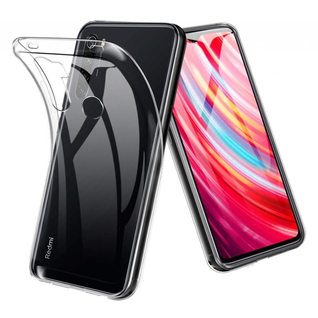 Чехол для моб. телефона Laudtec для Xiaomi Redmi Note 8 Clear tpu (Transperent) (LC-XRN8T)