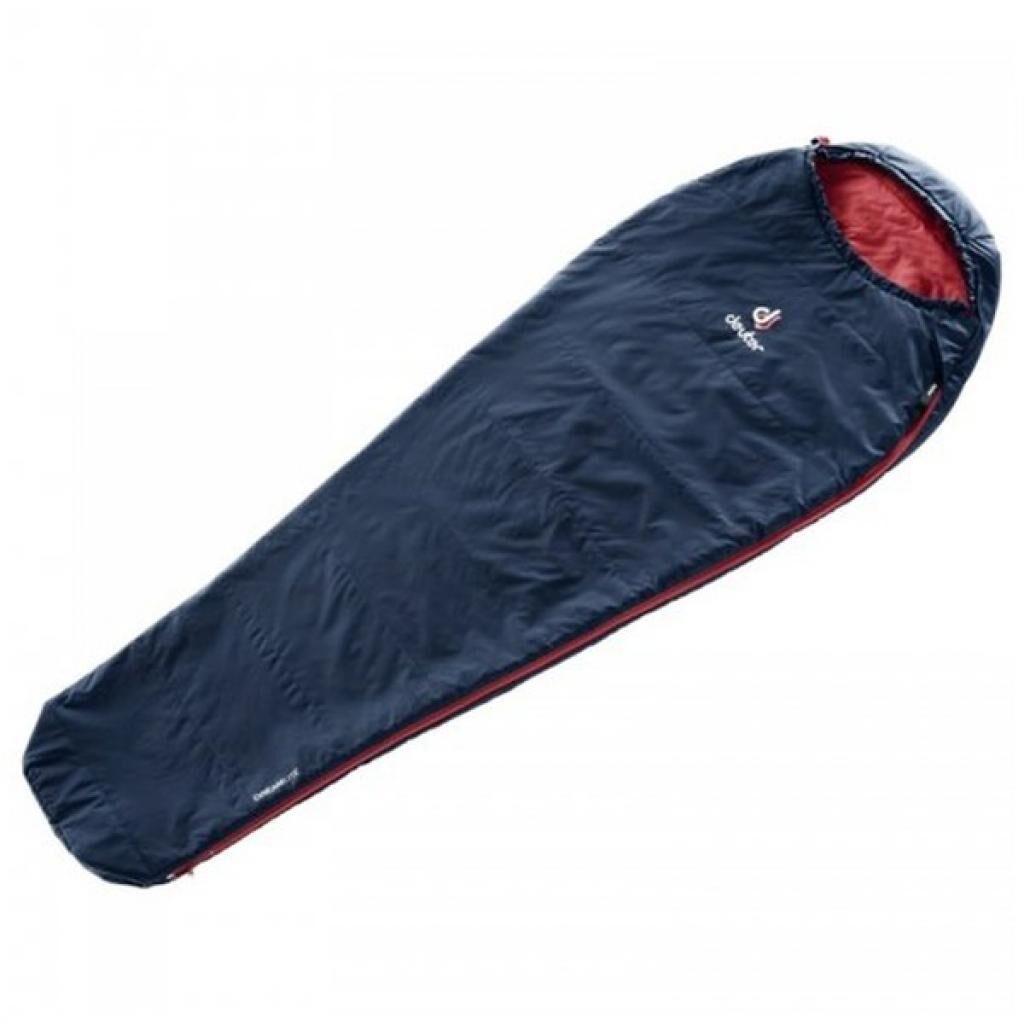 Спальный мешок Deuter Dreamlite Left Navy-Cranberry (3703019 3524 1)