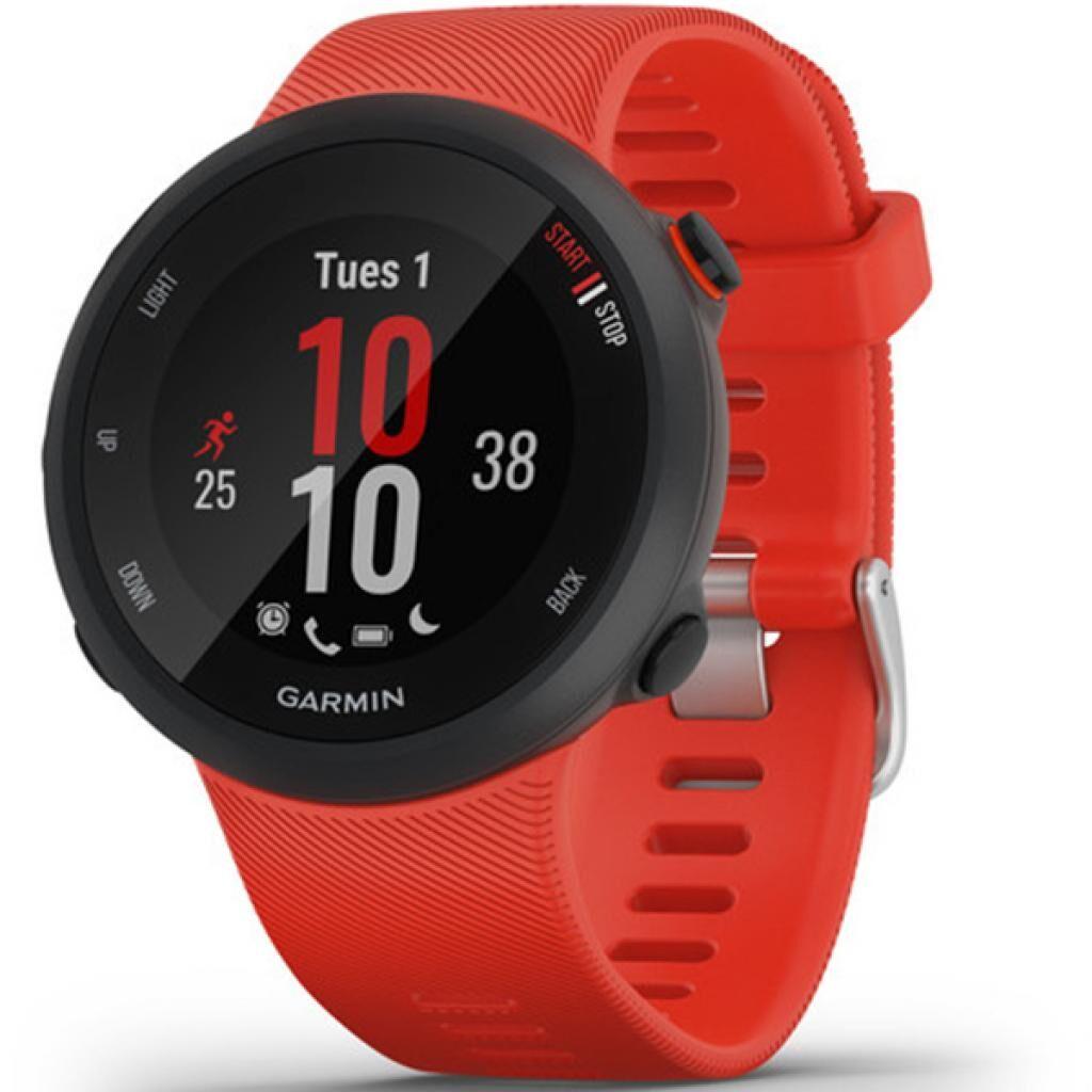 Смарт-часы Garmin Forerunner 45, Large, Lava Red (010-02156-16)