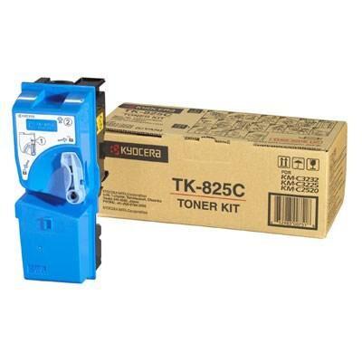 Тонер-картридж Kyocera TK-825C cyan, 7.5К (1T02FZCEU0)