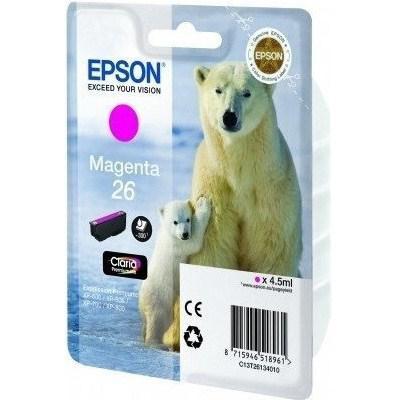 Картридж EPSON 26 XP600/605/700 magenta (C13T26134010/C13T26134012)