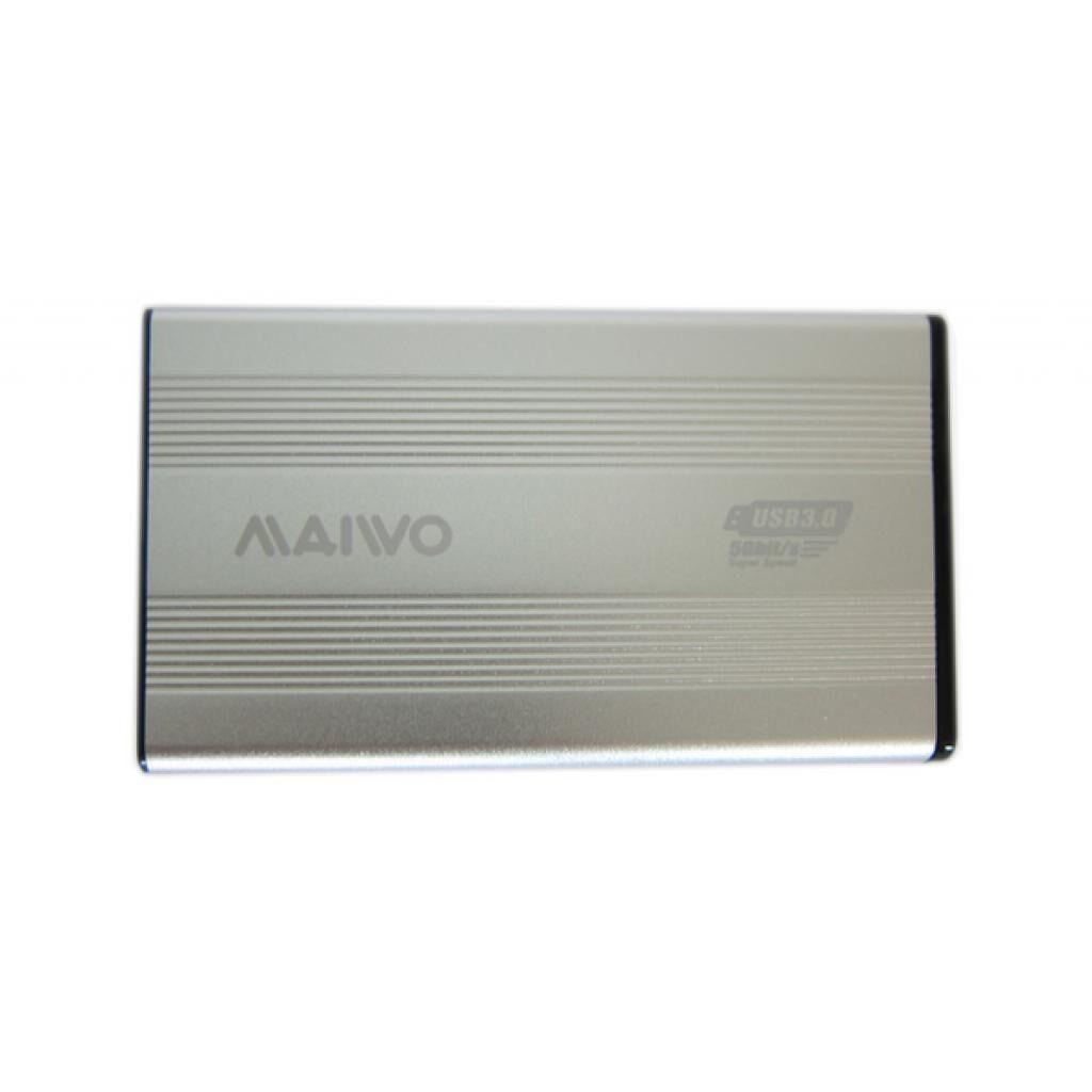 Карман внешний Maiwo K2501A-U3S silver