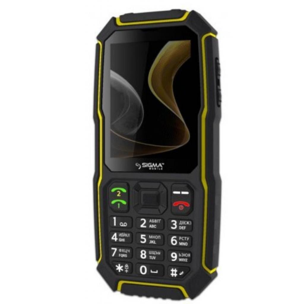 Мобильный телефон Sigma X-treme ST68 Black Yellow (4827798636725)