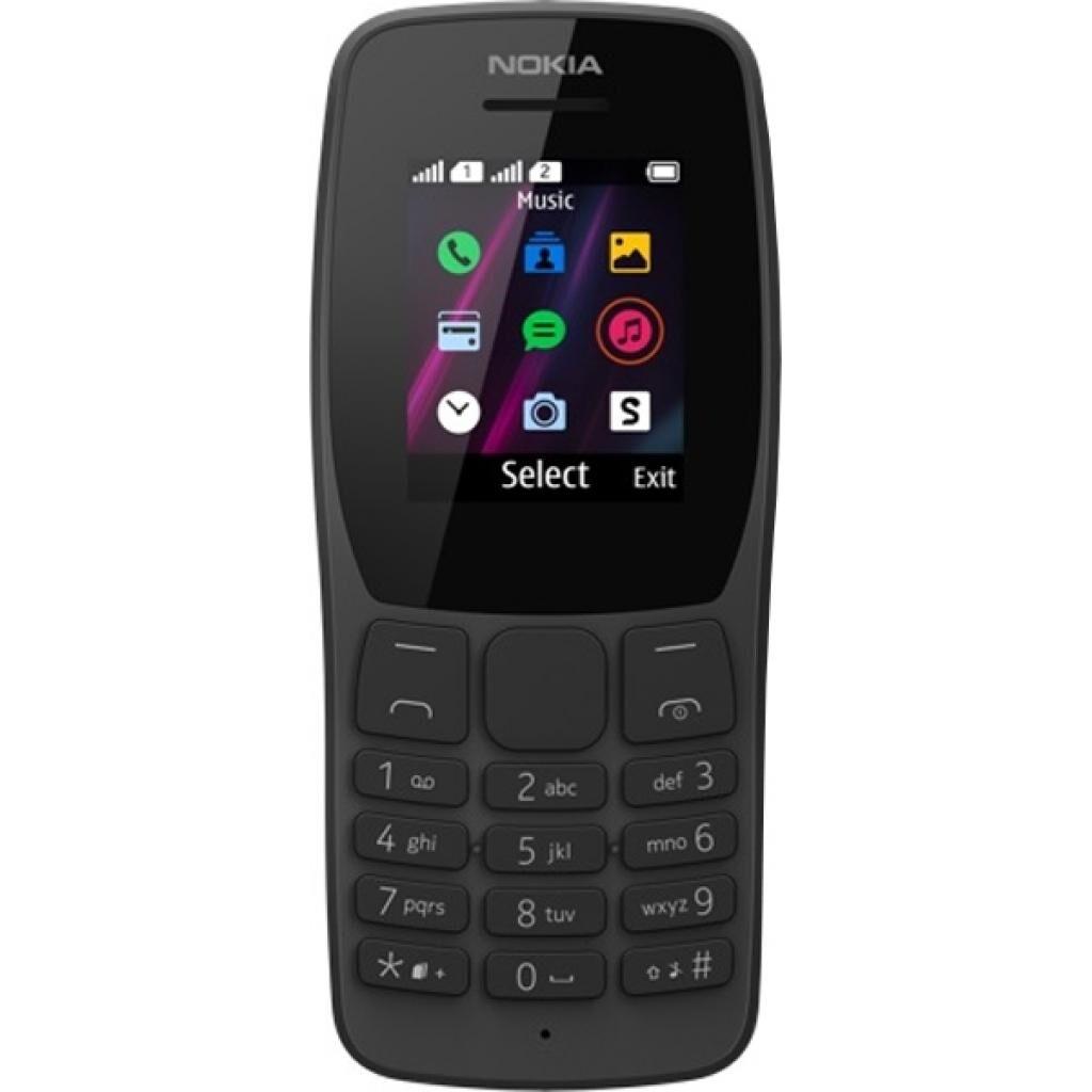 Мобильный телефон Nokia 110 DS Black (16NKLB01A07)