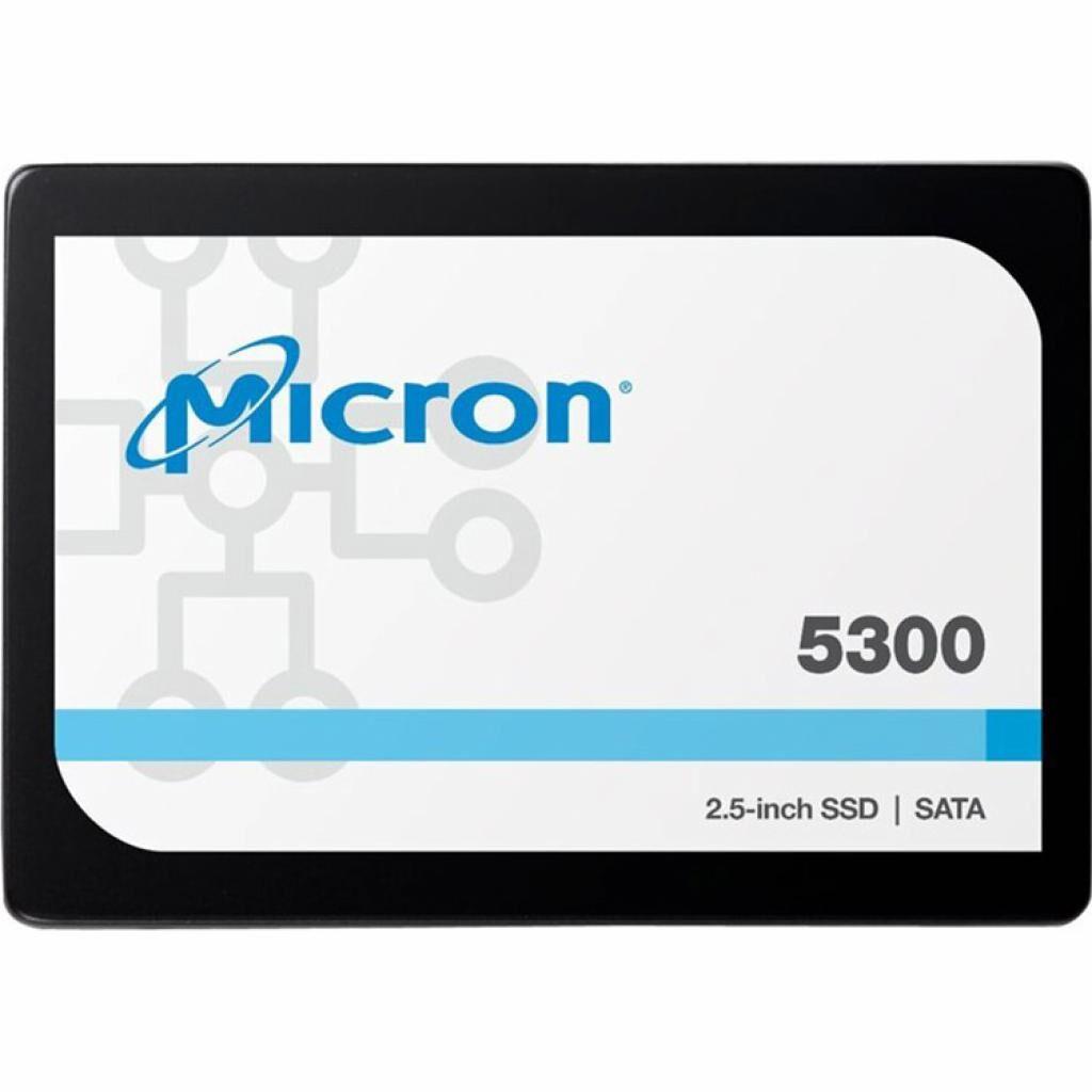 """Накопитель SSD для сервера 240GB SATA 6Gb/s 5300 PRO Enterprise SSD, 2.5"""" 7mm Micron (MTFDDAK240TDS-1AW1ZABYY)"""
