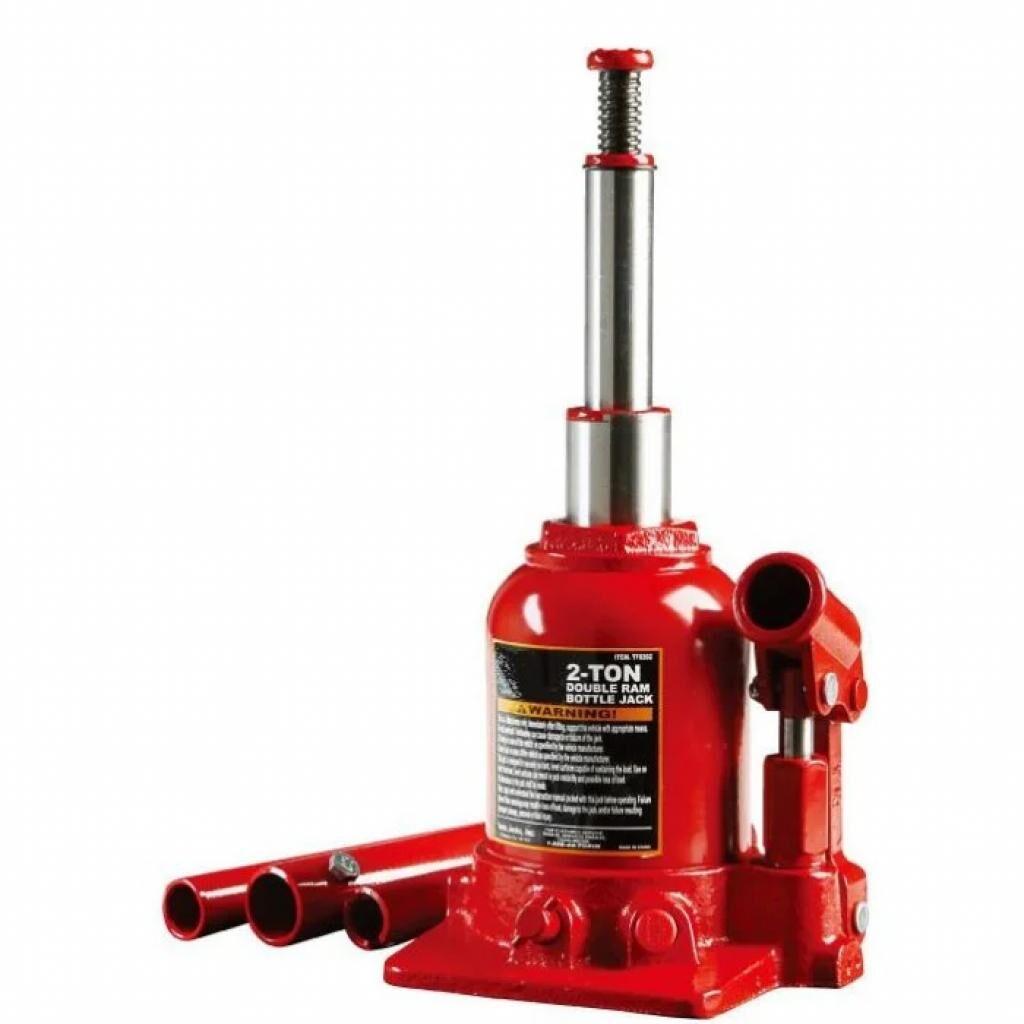 Домкрат Torin гидравлический двухштоковый 2т 150-370 мм низкопрофильный (TF0202)