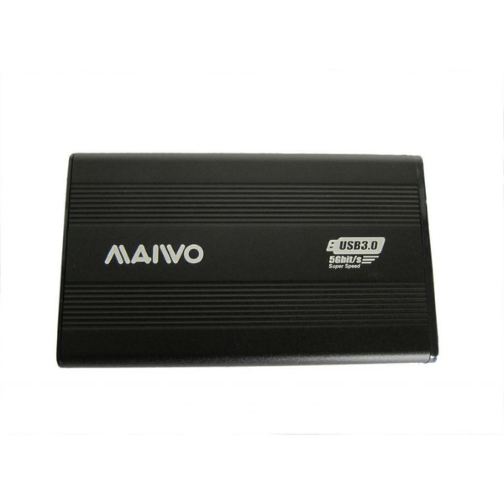 Карман внешний Maiwo K2501A-U3S black