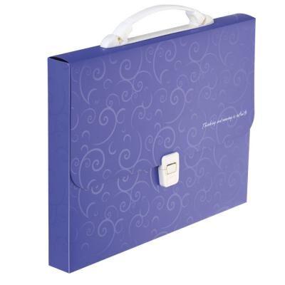 Папка - портфель Buromax A4/35мм, BAROCCO, violet (BM.3719-07)
