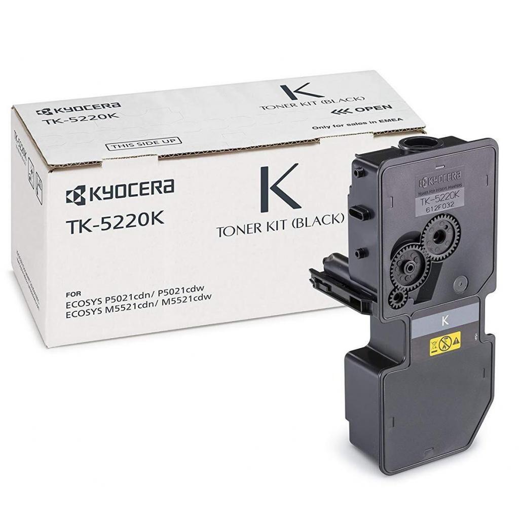 Тонер-картридж Kyocera TK-5220K black (1T02R90NL1)
