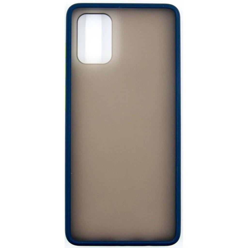 Чехол для моб. телефона Dengos Samsung Galaxy A71 (blue) (DG-TPU-MATT-35)