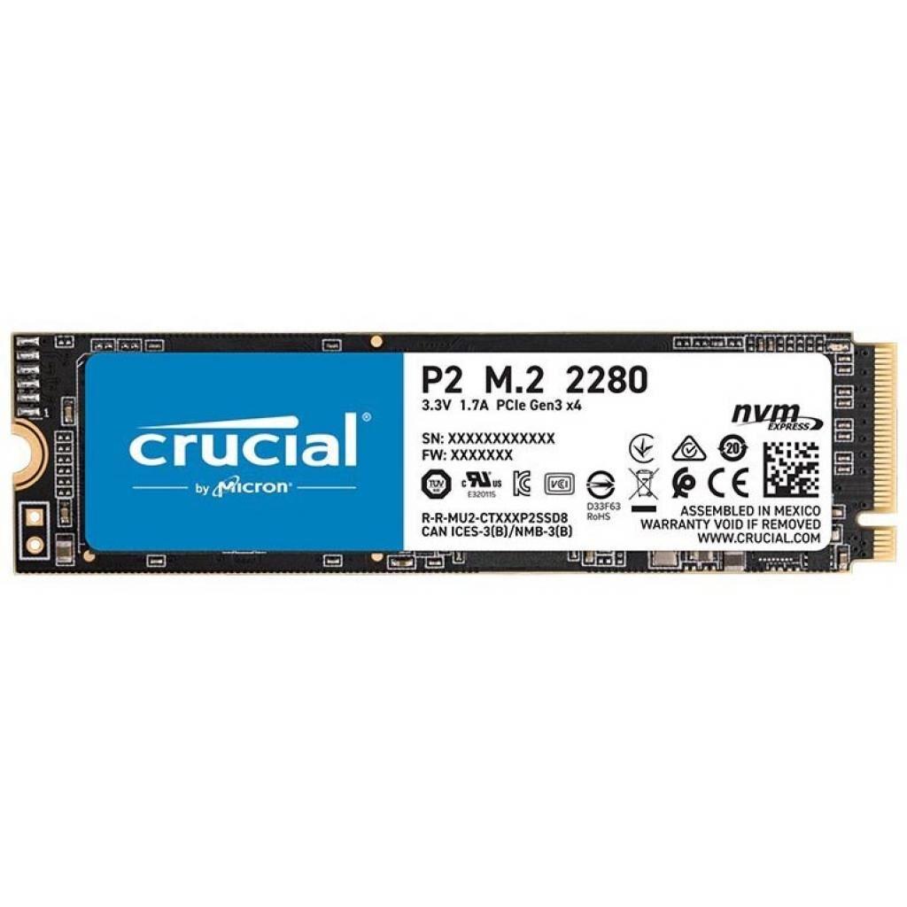 Накопитель SSD M.2 2280 1TB Micron (CT1000P2SSD8)