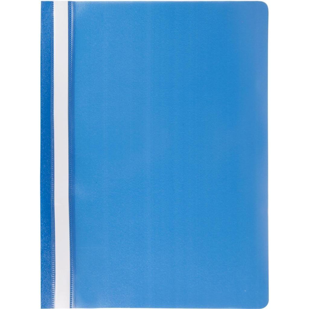 Папка-скоросшиватель JOBMAX, А4, 110/110 мкм, синяя BUROMAX (BM.3313-02)
