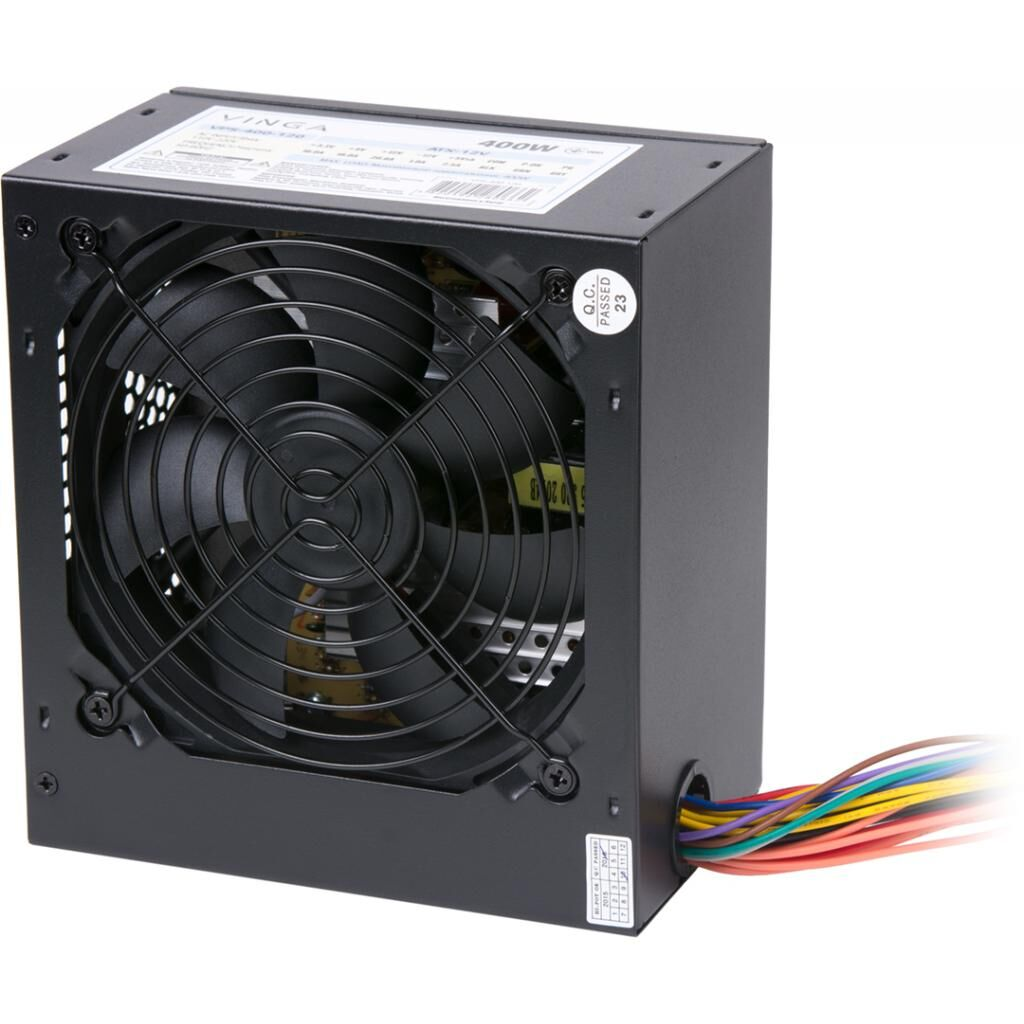 Блок питания Vinga 400W (PSU-400-12 black)
