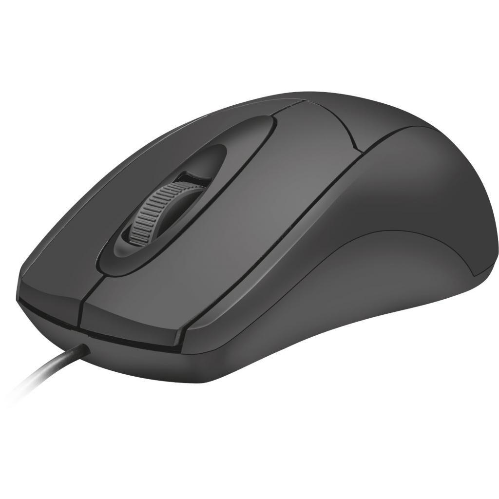 Мышка Trust Ziva Optical mouse Black USB (21947)