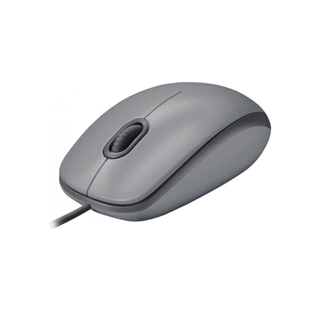 Мышка Logitech M110 Silent Gray (910-005490)