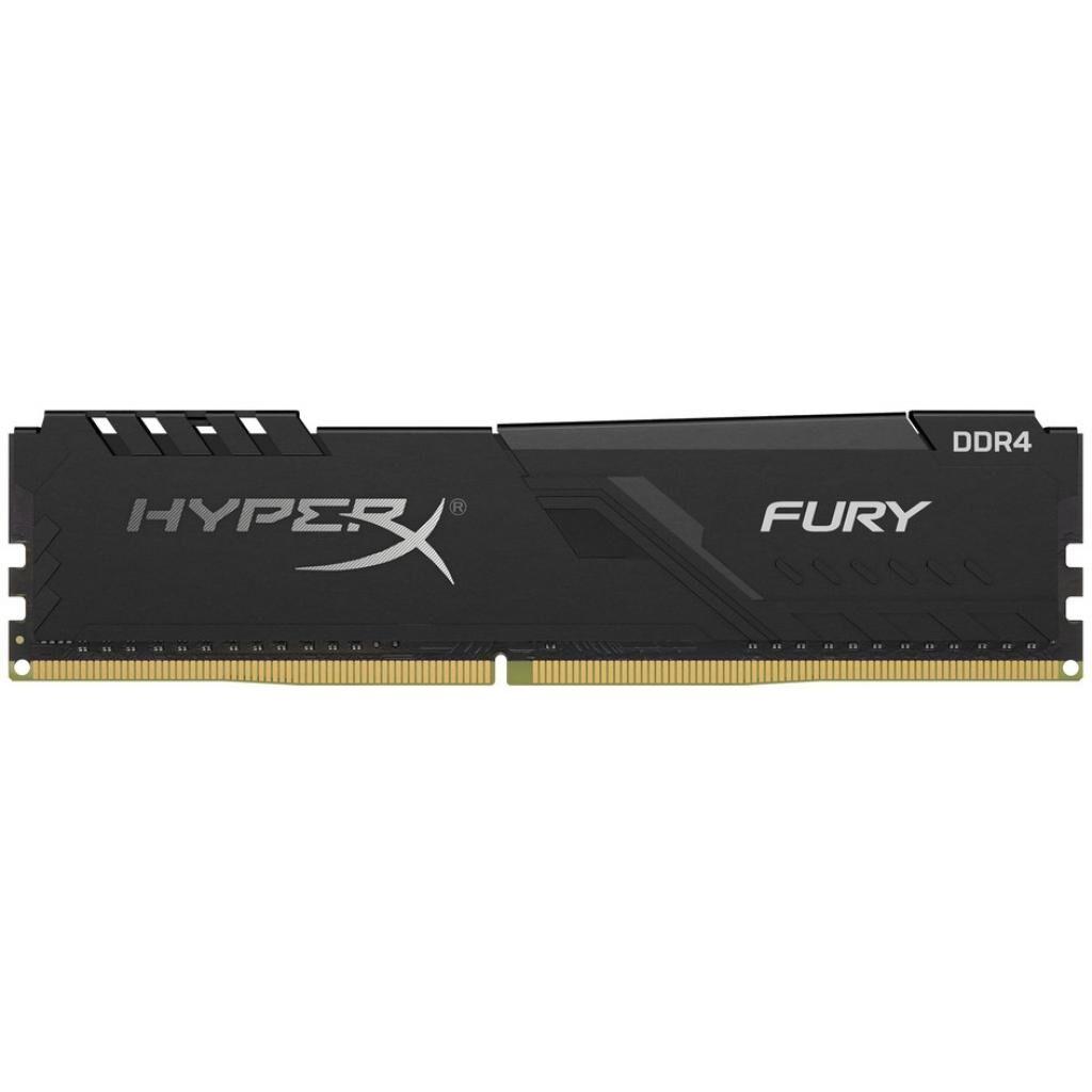 Модуль памяти для компьютера DDR4 4GB 2666 MHz HyperX FURY Black HyperX (Kingston Fury) (HX426C16FB3/4)