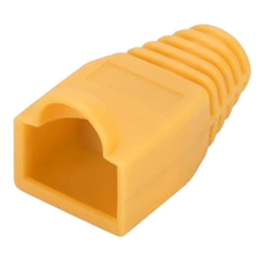 Колпачок коннектора RJ-45 Yellow (100 шт/уп.) Merlion (CPRJ45ML-YW)