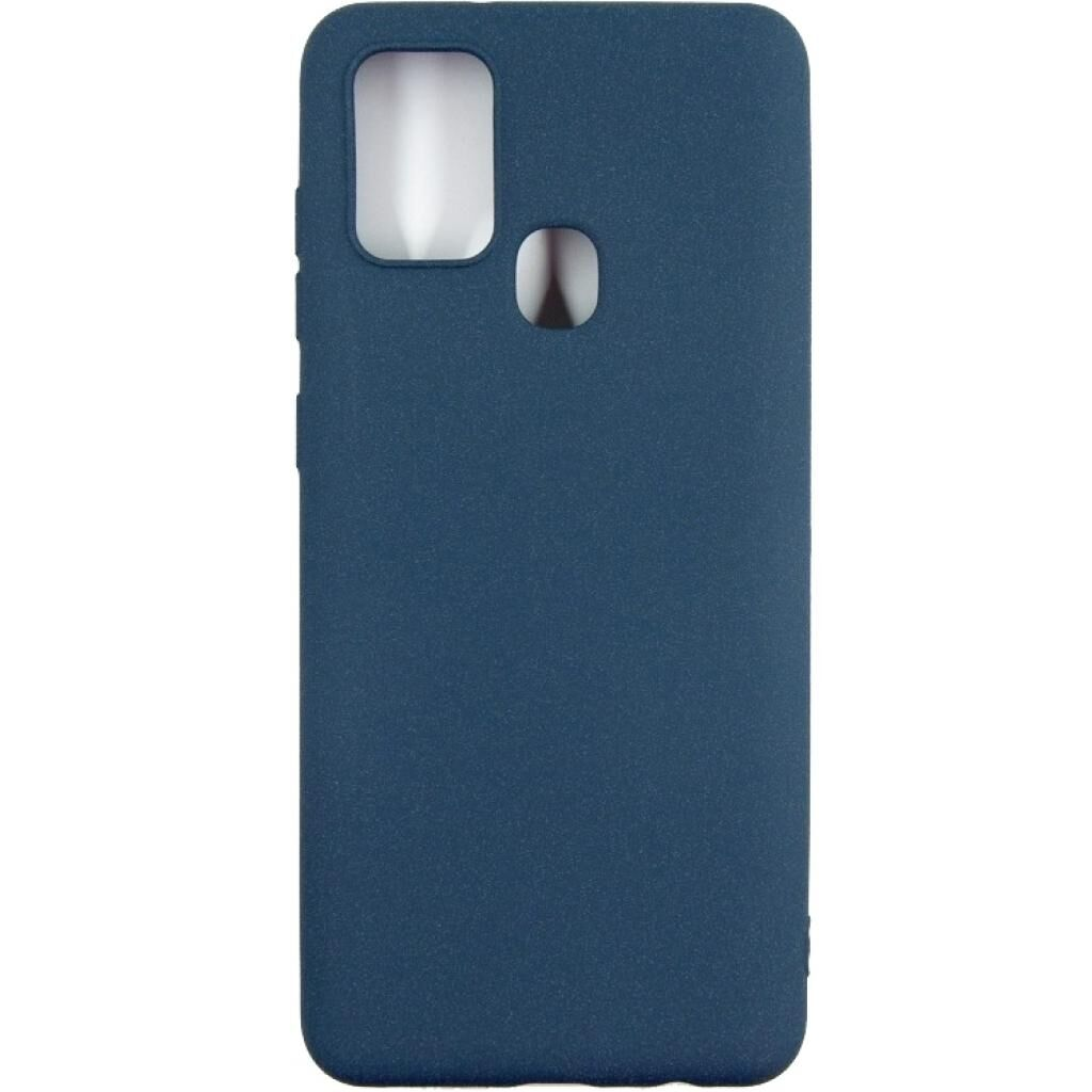 Чехол для моб. телефона DENGOS Carbon Samsung Galaxy A21s, blue (DG-TPU-CRBN-75) (DG-TPU-CRBN-75)