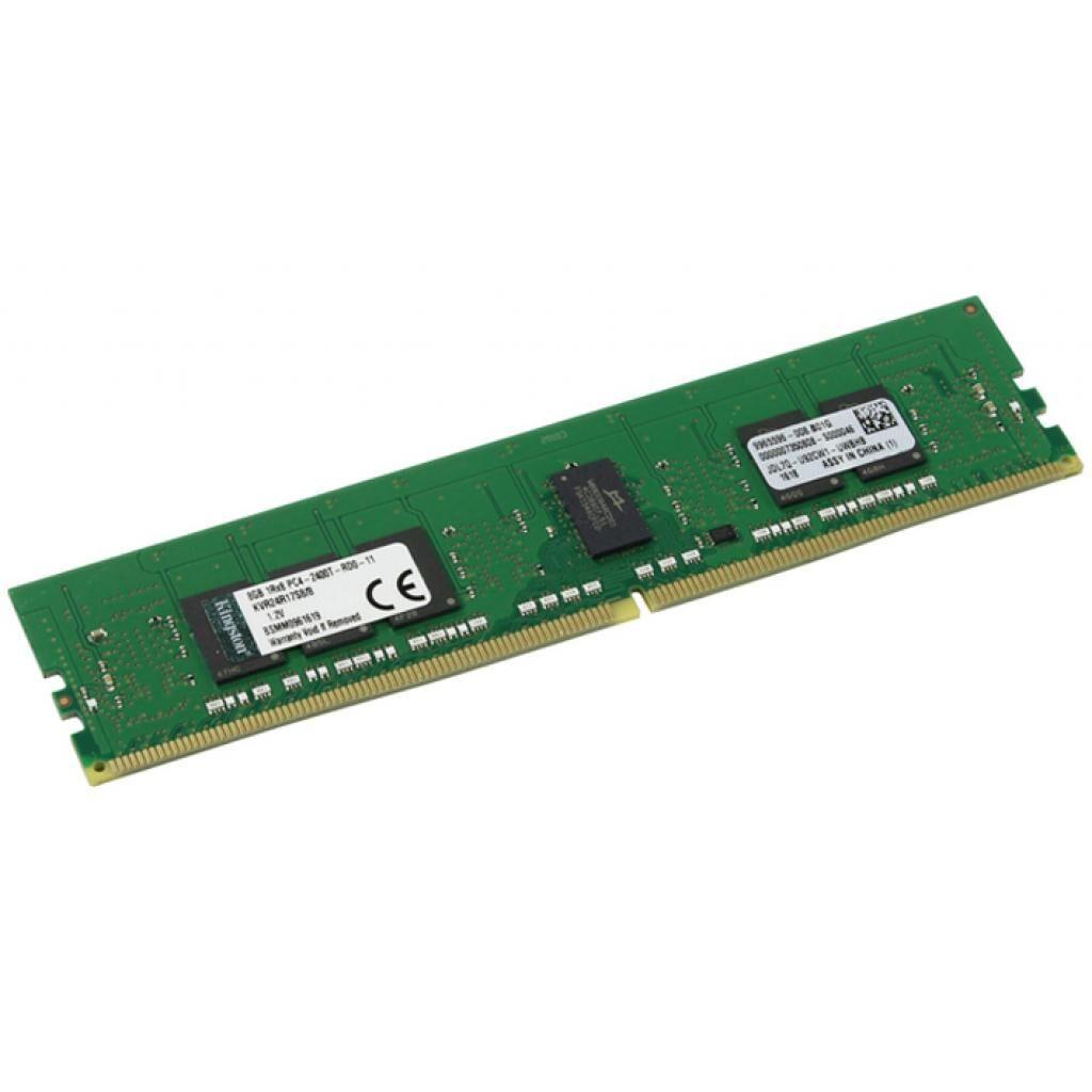 Модуль памяти для сервера DDR4 16GB ECC RDIMM 2666MHz 1Rx8 1.2V CL19 Kingston (KSM26RS8/16MEI)